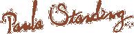 Paula Standing Logo